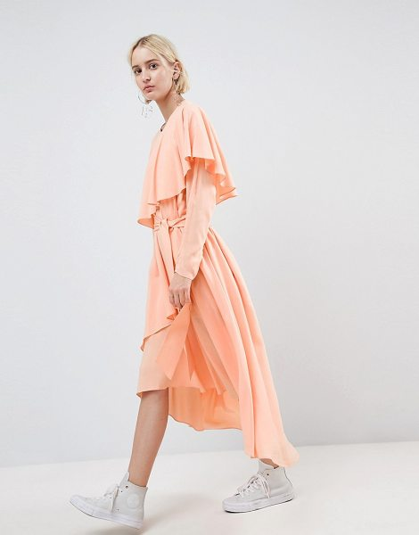 ASOS WHITE ASOS WHITE Soft Layered Maxi Dress in peach - Maxi dress by ASOS WHITE, Soft-touch style, Fully lined,...