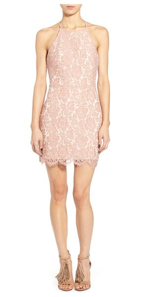 ASTR THE LABEL lace open back minidress - Prepare to turn heads in a figure-flaunting minidress...