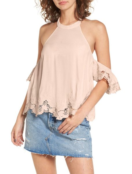 ASTR the Label alesandra blouse in blush - Channel your favorite romantic heroine every time you...