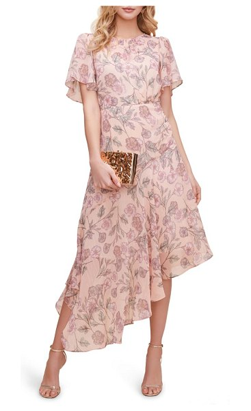 ASTR the Label floral print dress in pink