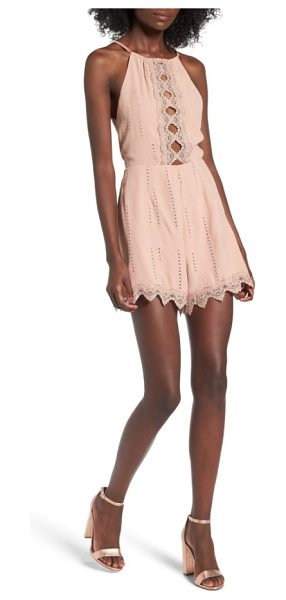 ASTR the Label kiara romper in mauve - Show some skin in this flirty romper with cutout...