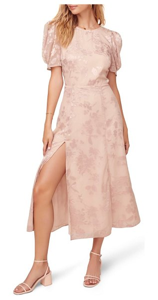 ASTR the Label monach midi dress in pink