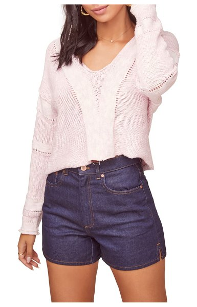 ASTR the Label naomi sweater in pink