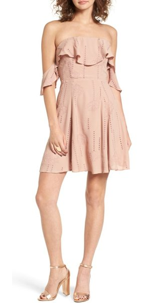ASTR the Label sabina a-line dress in mauve - Grab the spotlight at your next summer party in this...