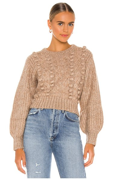 ASTR the Label tina sweater in taupe