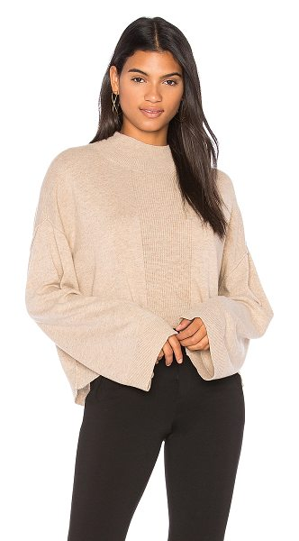 ATM Anthony Thomas Melillo Alpaca Mock Neck Sweater in tan - Alpaca blend. Dry clean only. Knit fabric. Ribbed trim....