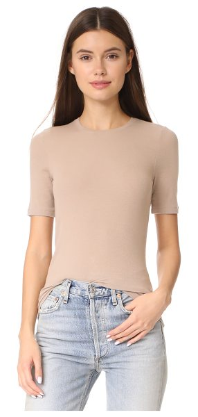 ATM ANTHONY THOMAS MELILLO short sleeve tee - Soft, slinky jersey lends a curve-hugging fit to this...
