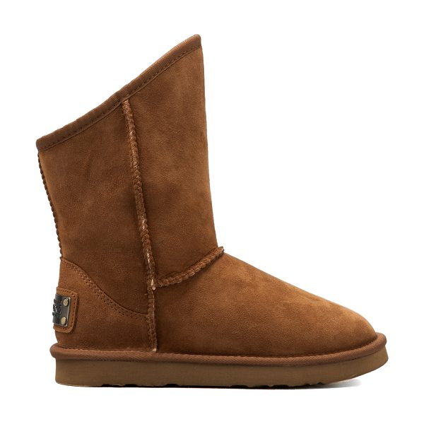 Australia Luxe Collective Cosy short in tan - Shell & Lining: 100% genuine sheepskinOutsole: 100% EVA...