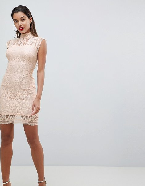 Ax Paris lace pencil dress in pink - Evening dress by AX Paris, Some days call for a little...