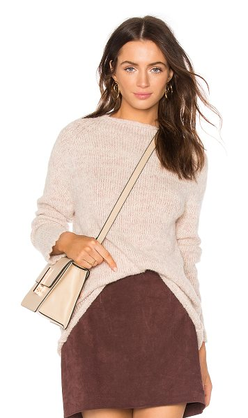 AYNI Zapina Oversized Sweater in blush - 54% alpaca 40% baby alpaca 6% merino wool. Hand wash...