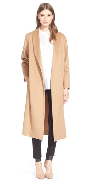 AYR the robe camel hair maxi coat - Sumptuous camel hair fabrication and minimalist design...