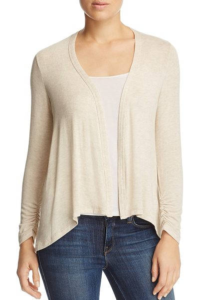 B Collection By Bobeau B Collection by Bobeau Drake High Low Cardigan in oatmeal - B Collection by Bobeau Drake High Low Cardigan-Women