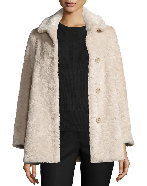 "ba&sh ONOUR COAT in beige - ba & sh ""Onour"" coat in faux fur (acrylic/polyester)...."