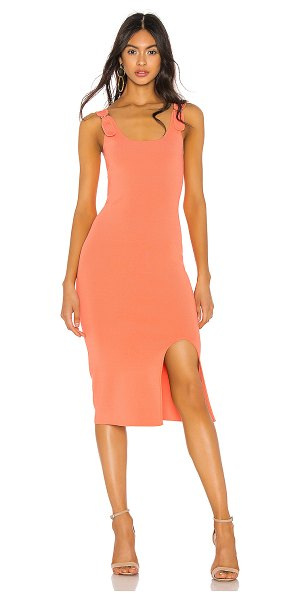 Bailey 44 budtender dress in flamingo