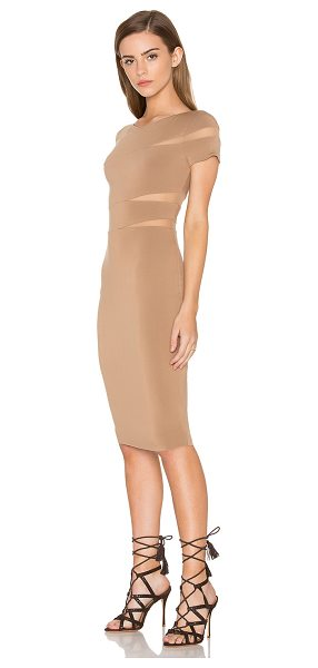 Bailey 44 Delap Dress in tan - Self: 94% rayon 6% spandexContrast: 80% nylon 20%...