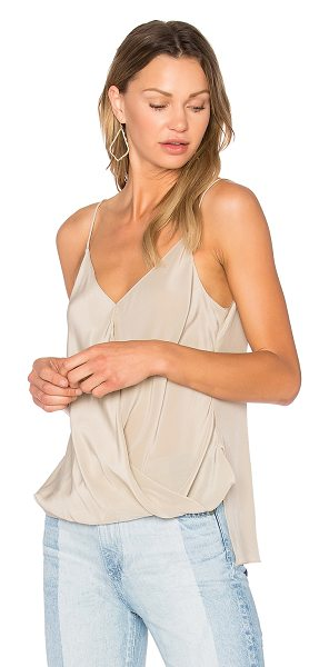 Bailey 44 Falafel Top in beige - Silk blend. Dry clean only. BAIL-WS1653. 404 C308....