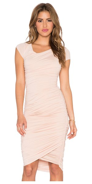 Bailey 44 Primrose dress in blush - 94% rayon 6% spandex. Dry clean only. Fully lined....