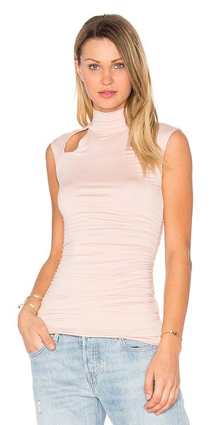 Bailey 44 Stephanie Top in blush - 94% rayon 6% spandex. Dry clean only. Shoulder cut-out...