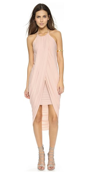 Bailey 44 Day lily dress in blush - A relaxed Bailey44 dress with a full length slit. Raw...