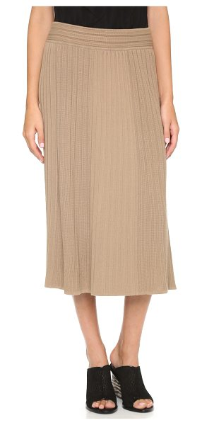 BAILEY 44 Shubert alley skirt - A soft Bailey44 A line skirt with ribbed panels and...