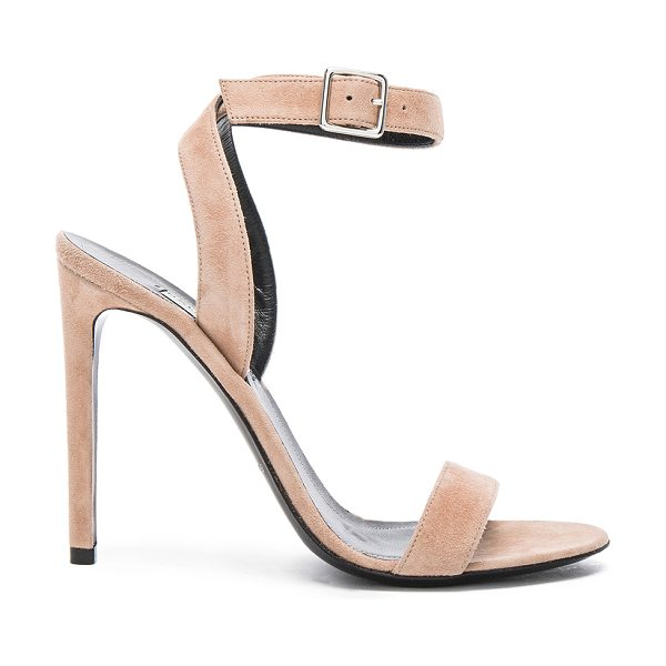 Balenciaga Suede heels in neutrals - Suede upper with leather sole.  Made in Italy.  Approx...