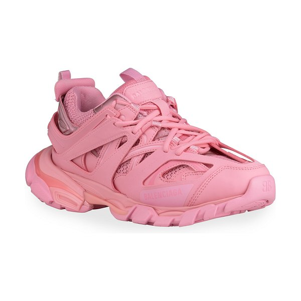 Balenciaga Track Fashion Trainer Sneakers in pink