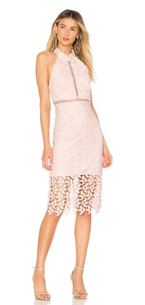 Bardot Gemma Dress in blush - Self & Trim: 100% polyLining: 95% poly 5% elastane. Hand...
