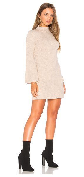 Bardot Tash Dress in beige - 84% acrylic 13% nylon 3% elastane. Hand wash cold....