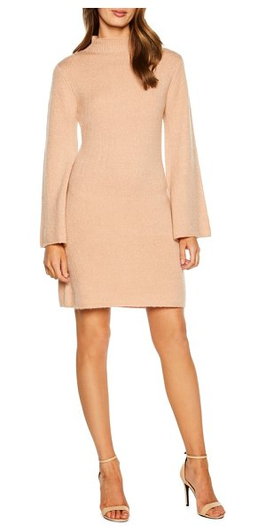 Bardot tash sweater dress in pink