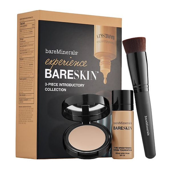 bareMinerals experience bareskin(r) 3-piece introductory collection bare satin 06 - An introductory three-piece collection of bareSkin®...