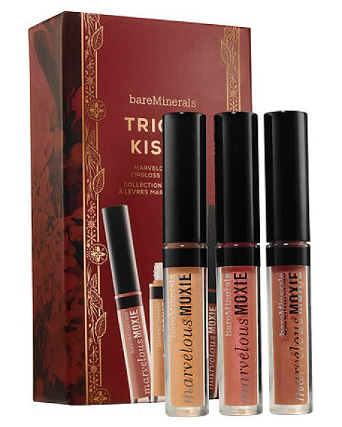 BAREMINERALS trio of kisses marvelous moxie® lipgloss collection - A Marvelous Moxie® Lipgloss trio collection. This...