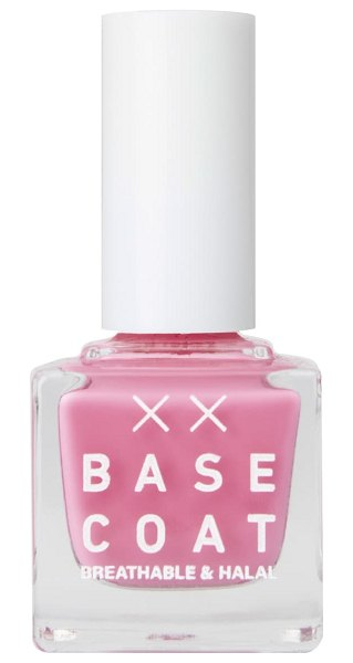 BASE COAT breathable & halal nail polish in butterfly blush