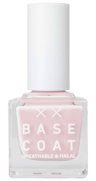 BASE COAT breathable & halal nail polish in cherry blossom