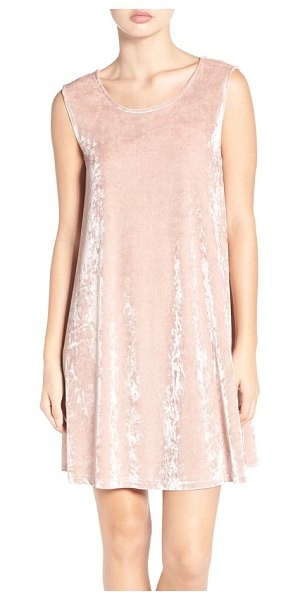 BB Dakota astell crushed velvet trapeze dress in champagne - Crushed velvet is back this season and is as luxe and...