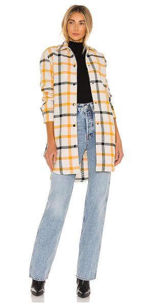 BB Dakota eldridge jacket in honey plaid