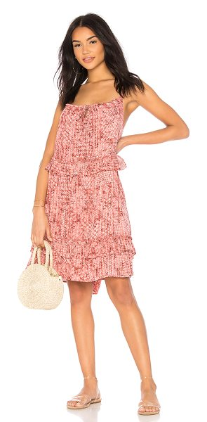 BB Dakota JACK by BB Dakota Logan Dress in rose - Rayon blend. Hand wash cold. Fully lined. Neckline...