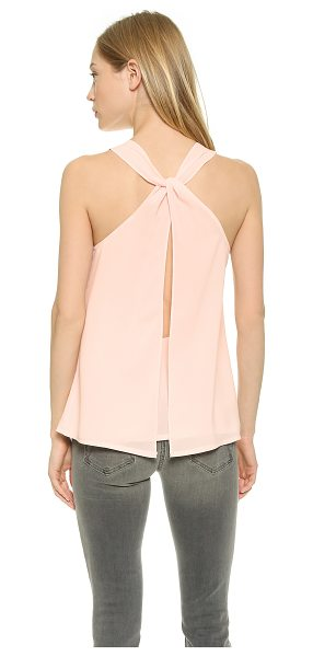 BB Dakota Radella tank in powder puff - A breezy BB Dakota tank with twisted straps and a high...