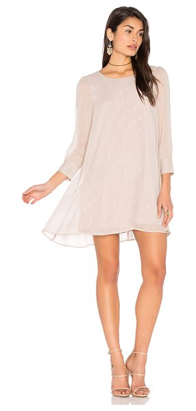 BB Dakota Warren Dress in blush - Shell & Lining: 100% poly. Hand wash cold. Fully lined....