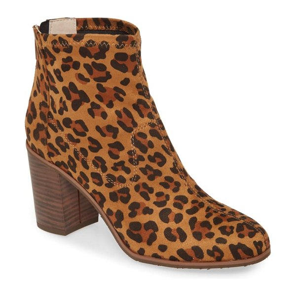BC Footwear vegan ringmaster bootie in brown