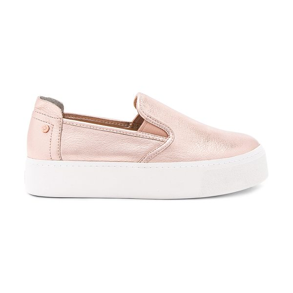 """BCBGENERATION Casey Sneaker - """"Metallic leather upper with rubber sole. Slip-on..."""