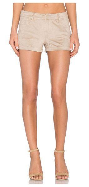 """BCBGENERATION Faux suede short - 100% poly. Faux suede. Shorts measure approx 10"""""""" in..."""