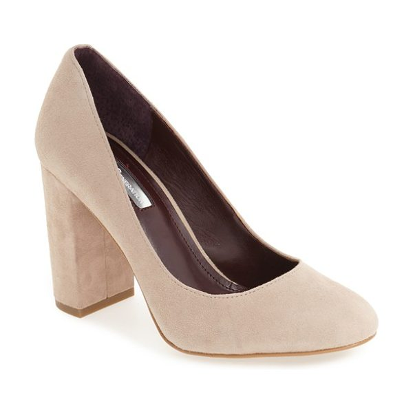 BCBGENERATION 'franka' block heel pump - A sleek block heel provides a modern finish for a...