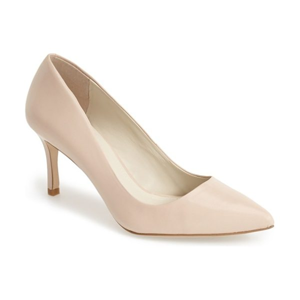 BCBGeneration pinni pointy toe pump in nude blush