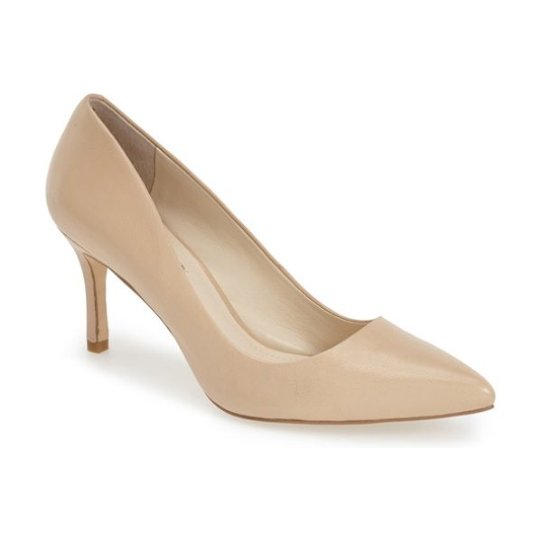 BCBGeneration pinni pointy toe pump in warm sand - Easy to wear and easy to pair, these stylish pointy toe...