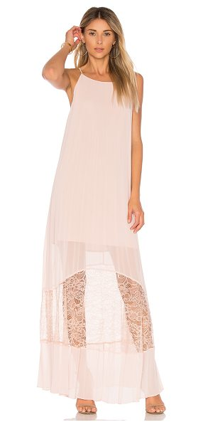 BCBGeneration Pleated Dress in pink - Self & Lining: 100% polyContrast Fabric: 100% nylon....