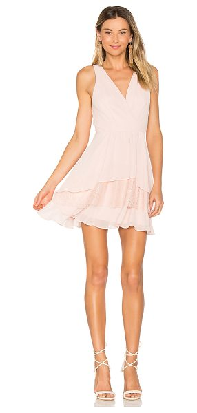 BCBGENERATION Surplice Ruffle Dress - Self & Lining: 100% polyContrast: 100% nylon. Fully...