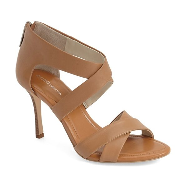 BCBGENERATION tebi sandal - A svelte stacked heel elegantly lifts a chic summer...
