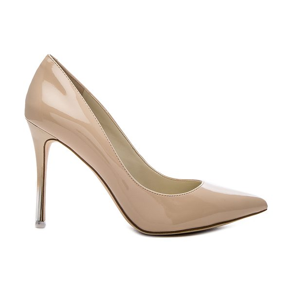 BCBGeneration Treasure Heel in beige - Patent man made upper with man made sole. Contrast ombre...