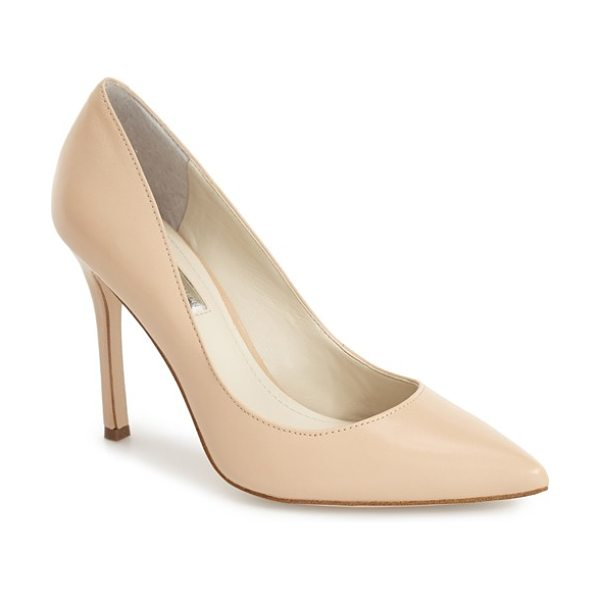 BCBGENERATION 'treasure' pointy toe pump - A curvy, low topline and leg-lengthening pointy toe add...