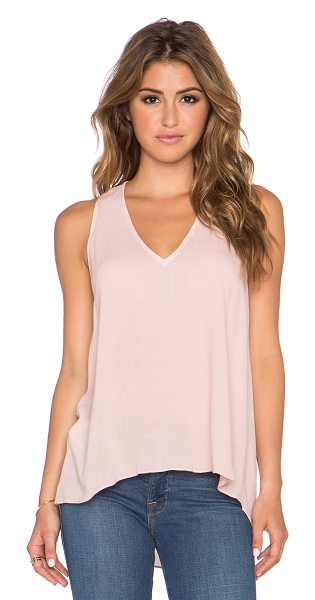 BCBGMAXAZRIA Aileen tank in pink - 100% rayon. Racerback. BCB-WS329. TFQ1U417. Founded in...